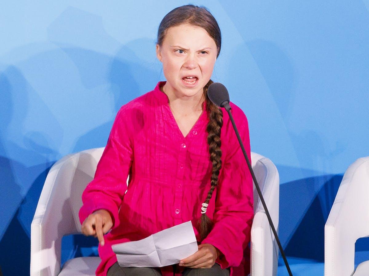 Greta Thunberg's voice speaks just as loud as her words