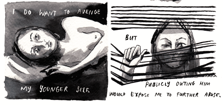 a searing comics anthology on sexual violence