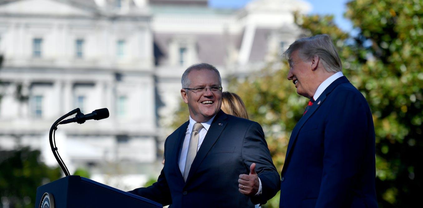 Grattan on Friday: Scott Morrison's dance with Donald gets up Beijing's nose