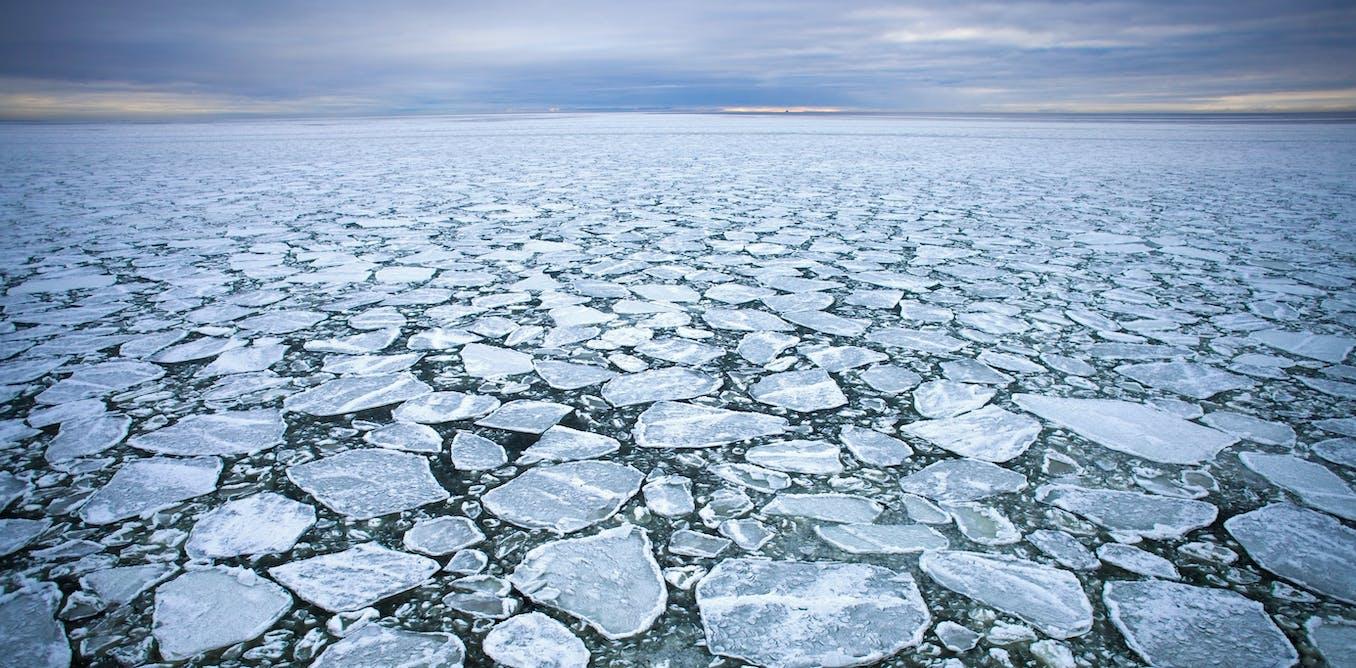 Les microplastiques pourraient affecter la formation et la fonte des glaces de l'Arctique
