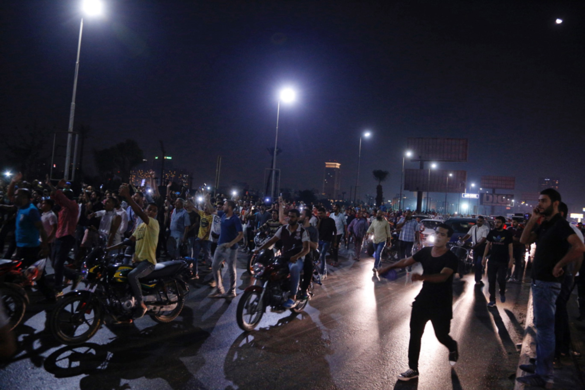 Egypt's Protests Uncover Deep Cracks in Al-Sisi's Strongman Façade