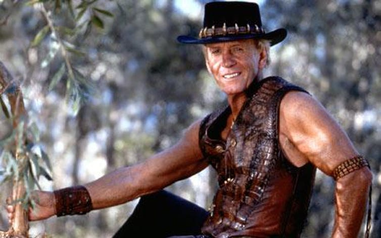 Paul Hogan and the myth of the white Aussie bloke