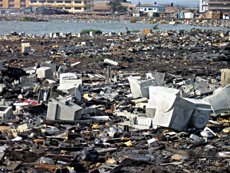 Europe S Electronic Waste Has Become Africa S Burden