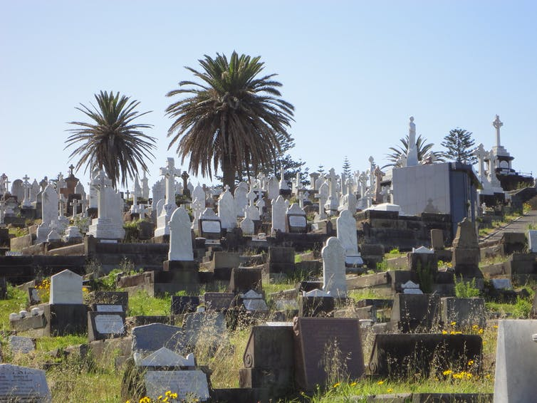 Burial space running out Australian cemeteries