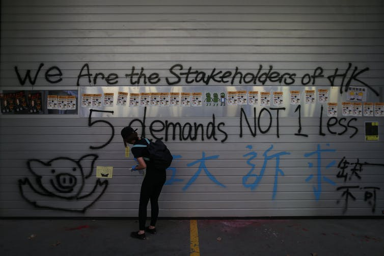 With no end in sight and the world losing interest, the Hong Kong protesters need a new script