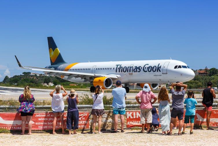 Thomas Cook Tourism Jet