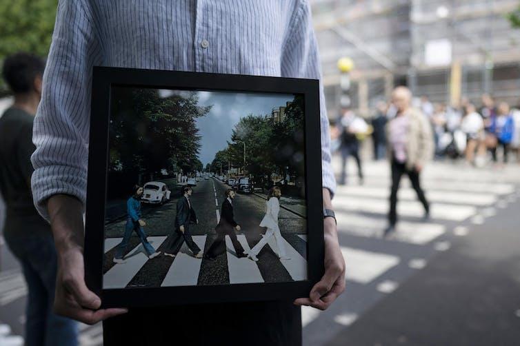 London's famous Abbey Road repainted during coronavirus lockdown ... | 502x754