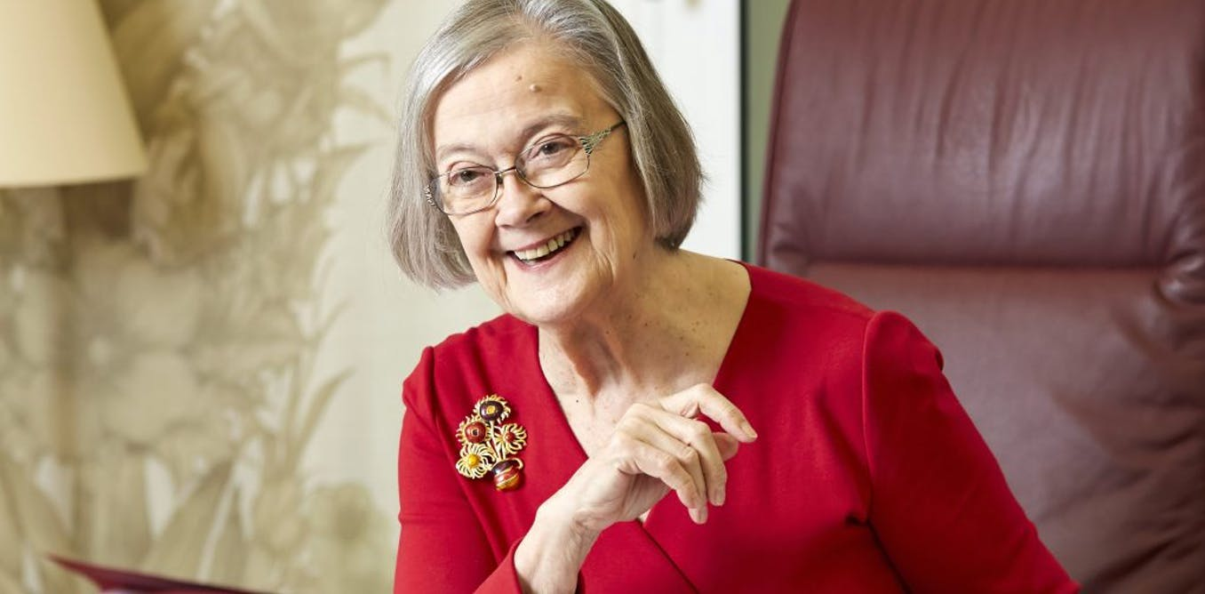 Lady Hale's spider shows key to women's power dressing is in the accessories