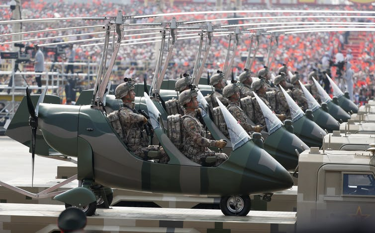 China's military might is much closer to the US than you probably think