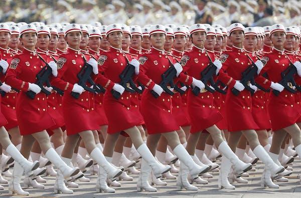 China's military spending