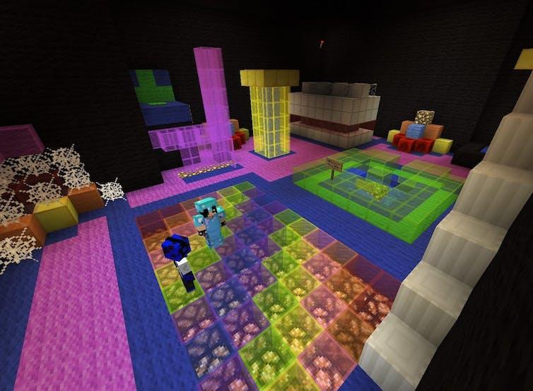 sensory room minecraft