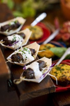 What's made of legumes but sizzles on the barbie like beef? Australia's new meat alternative