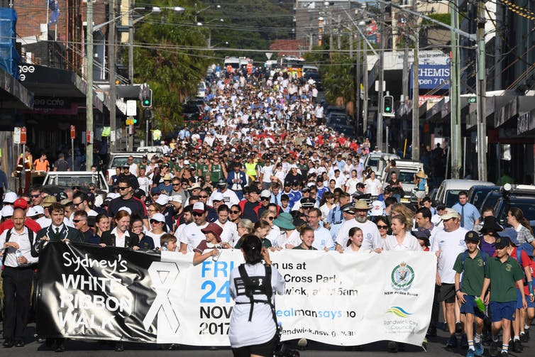 All the signs were there: lessons from the collapse of White Ribbon Australia