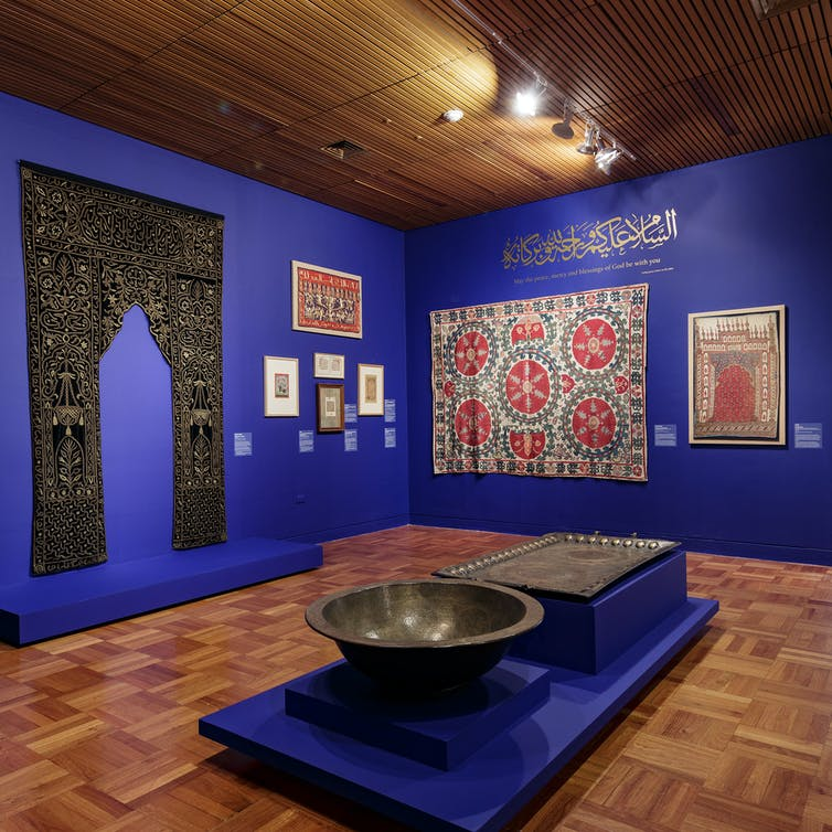 a breathtaking exhibition bringing Islamic art out of the shadows