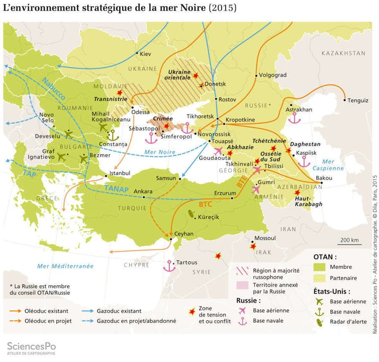«L'environnement stratégique de la mer Noire» (2015). FNSP/SciencesPo