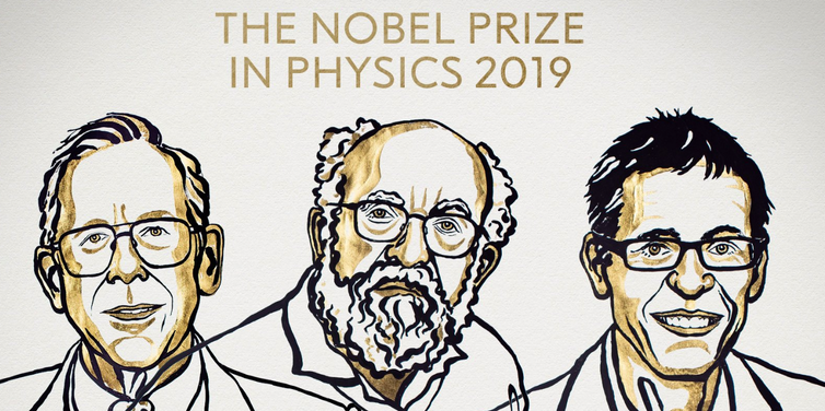 Cosmic theorist and planet-hunters share physics prize as Nobels reward otherworldly discoveries