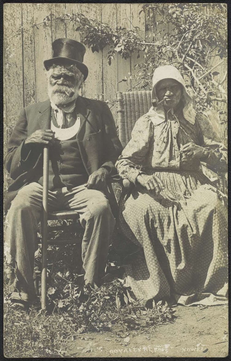 James Goulding and Mary Carpenter, Nowra, New South Wales, approximately 1905