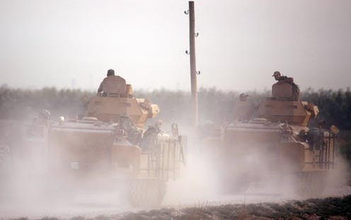 As Turkish troops move in to Syria, the risks are great - including for Turkey itself