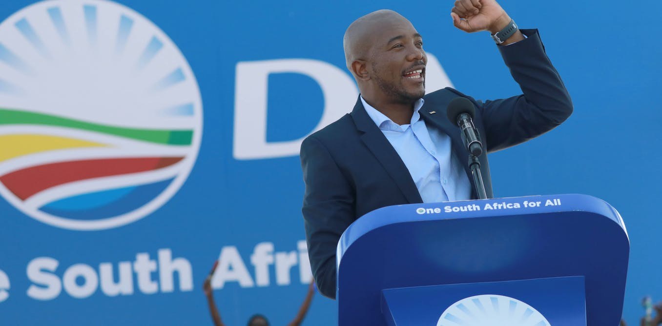 A turbulent transition: South Africa's opposition party faces a rocky future
