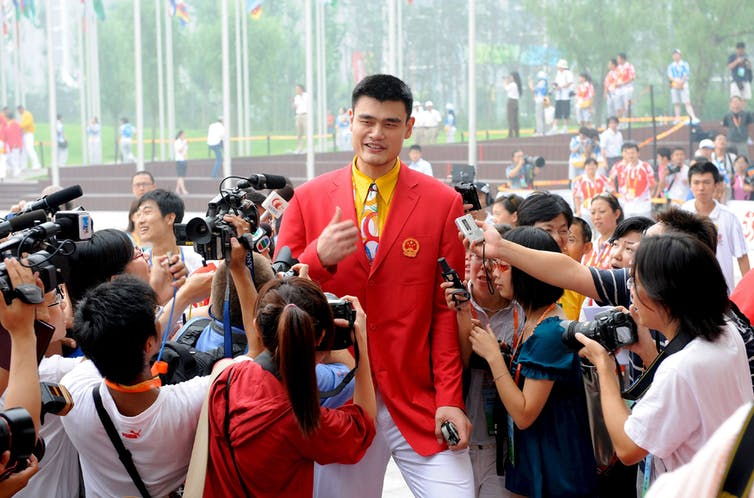 China has form as a sports bully, but its full-court press on the NBA may backfire