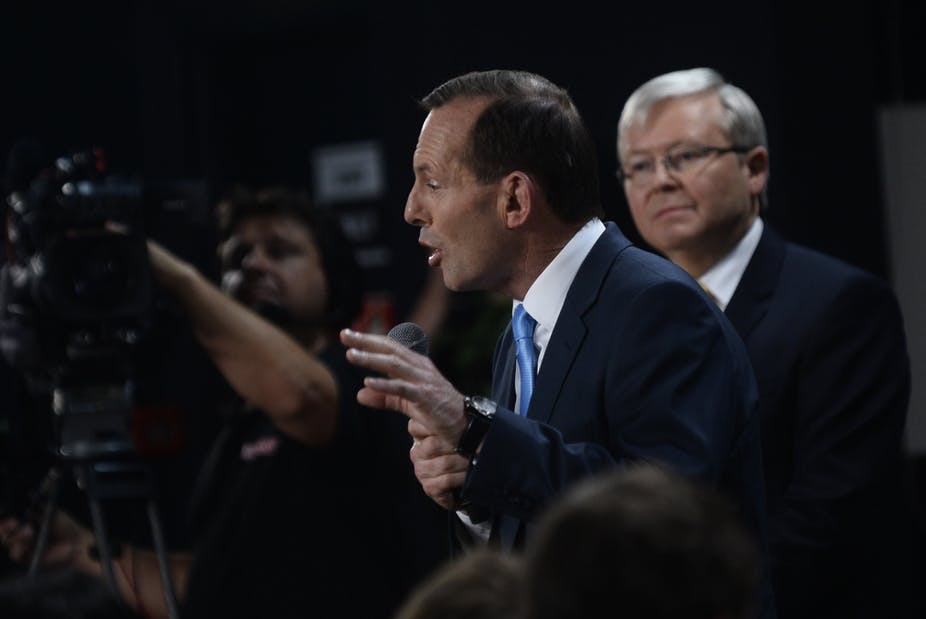 Don't these guys ever shut up? How Tony Abbott reignited the