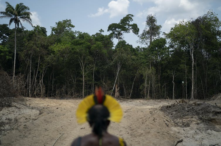 Pope affirms Catholic Church's duty to indigenous Amazonians hurt by climate change