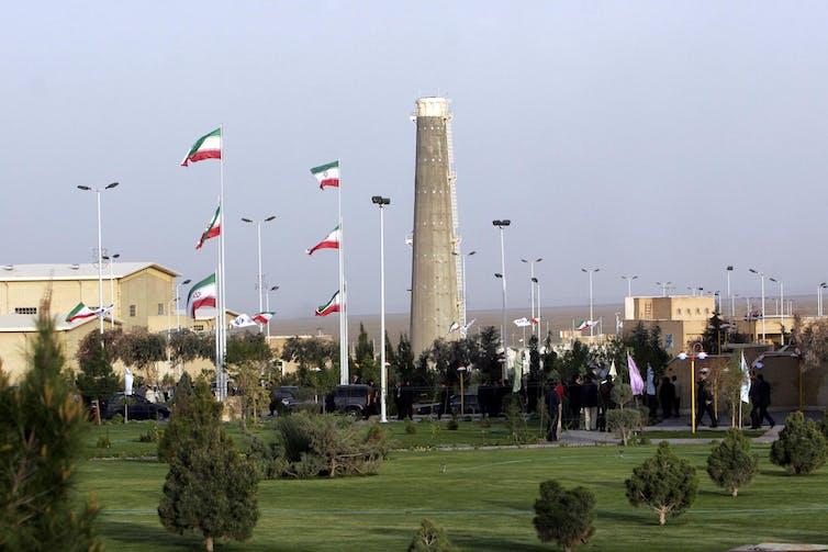 Iranian nuclear enrichment facility in Natanz