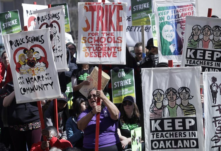 The Chicago teachers' strike isn't just about kids – it's about union power too