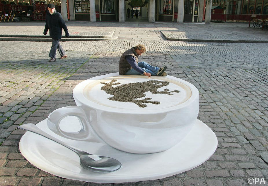 It S Just An Illusion Drinking More Coffee Every Day To Keep Alert Pa Geoff Cad