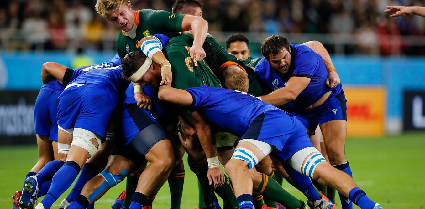Rugby World Cup: will body mass play a role in taking the victors over the line?