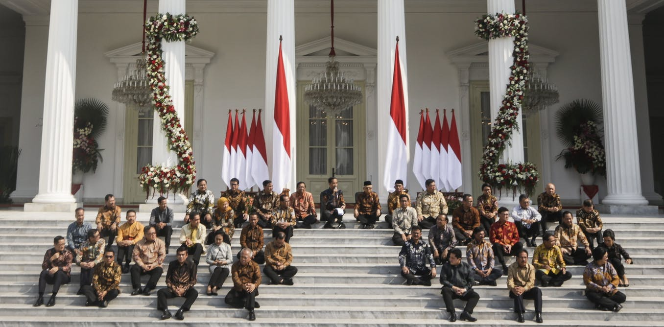 With his new cabinet, Indonesia's president Jokowi prioritises national stability over everything else