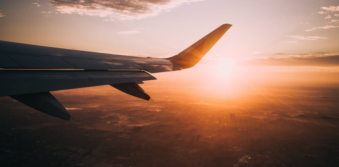 Flight shame: flying less plays a small but positive part in tackling climate change