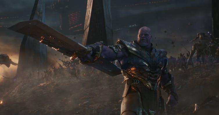 Josh Brolin as Thanos in Avengers