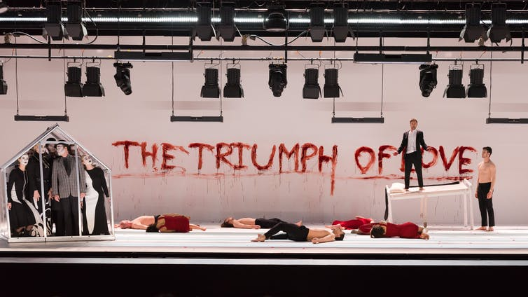 a bold reimagining through circus and opera