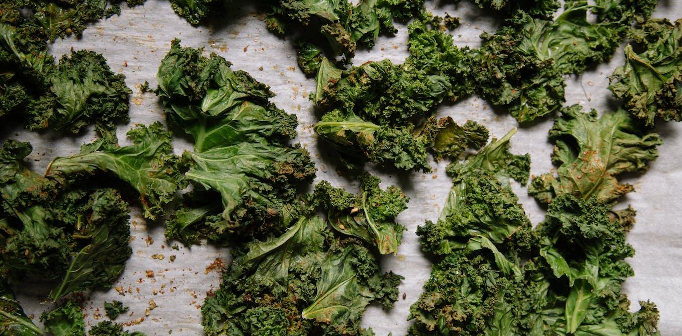 Celebrity greens kale and seaweed were long considered food of last resort