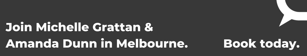 Join The Conversation in Melbourne