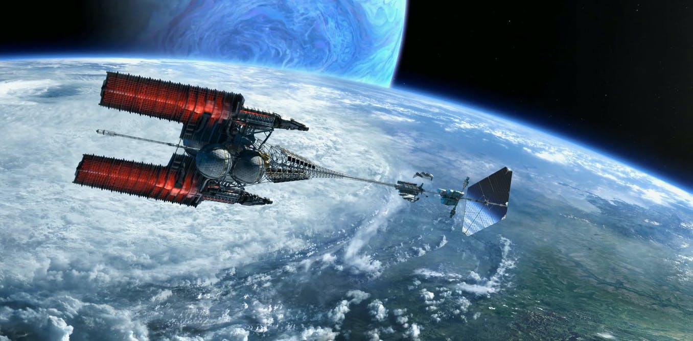 Voyages interstellaires, villes géantes… : comment la science-fiction pense l'énergie