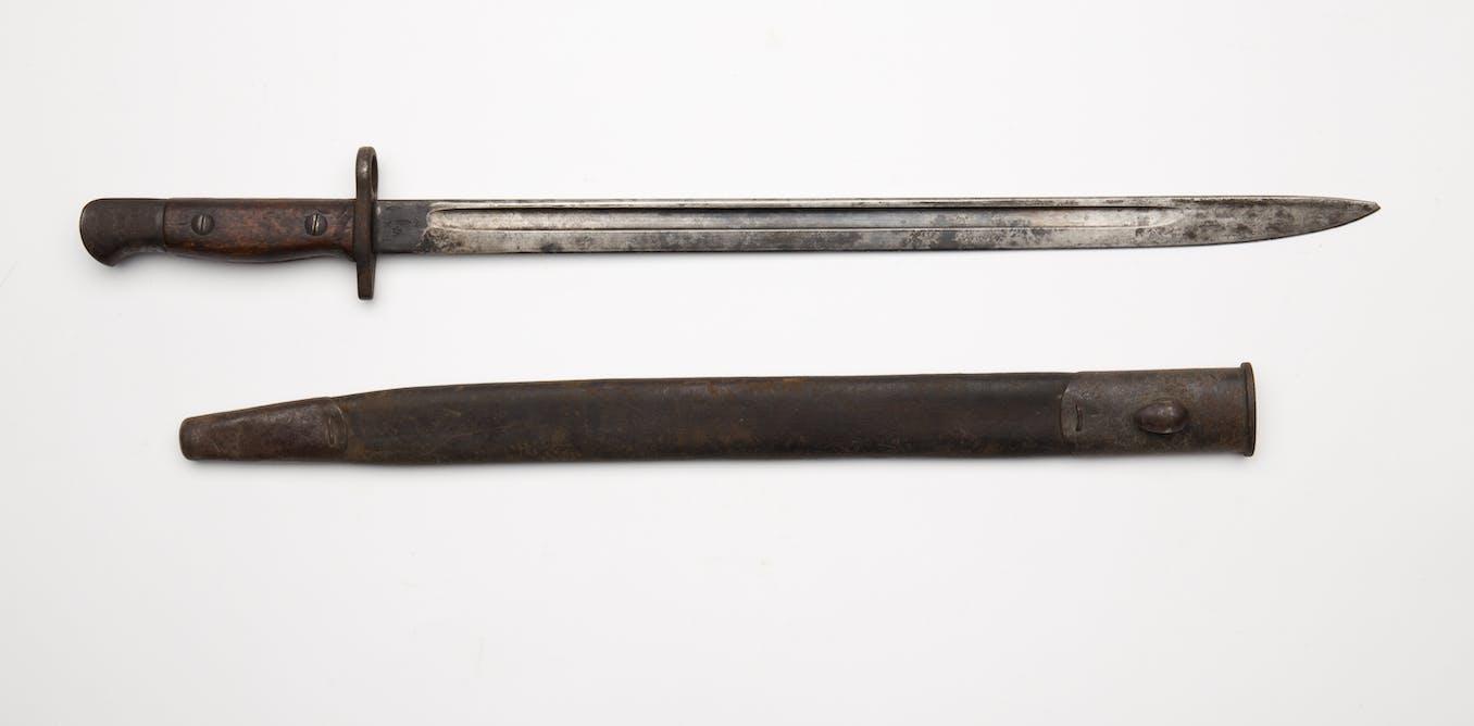 Friday essay: a short, sharp history of the bayonet