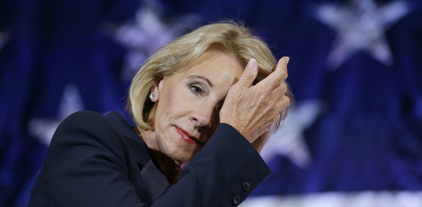 DeVos's formula for success: Trash public schools and push privatization