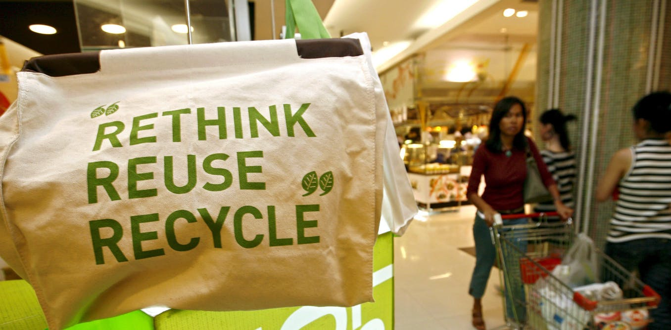 Recycling plastic bottles is good, but reusing them is better