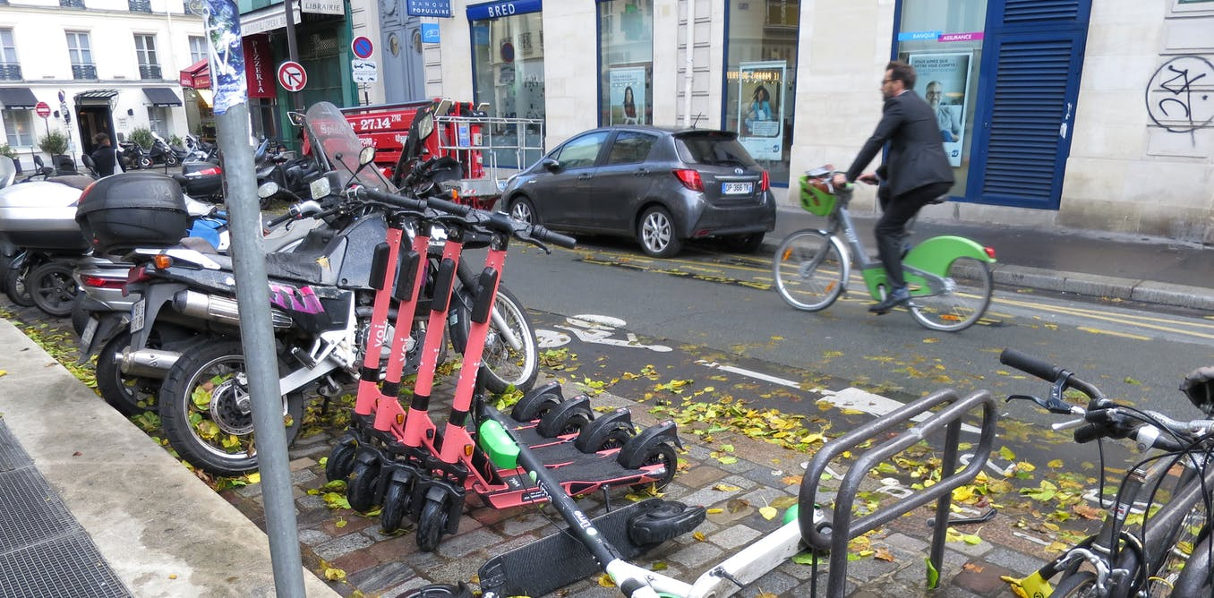 E-scooter scramble: lessons from the urban mobility battle in Paris