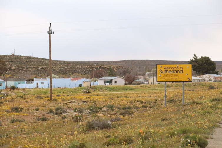 Sutherland in the Northern Cape, where the skeletal remains were from. Je'nine May/UCT