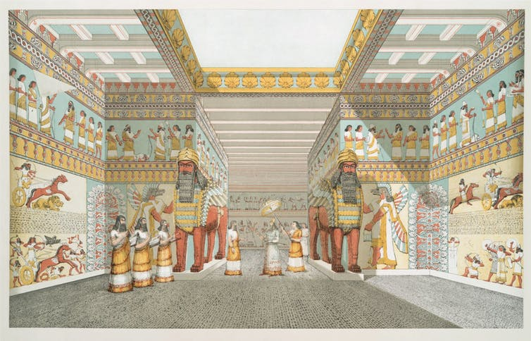 Climate change fueled the rise and demise of the Neo-Assyrian Empire, superpower of the ancient world
