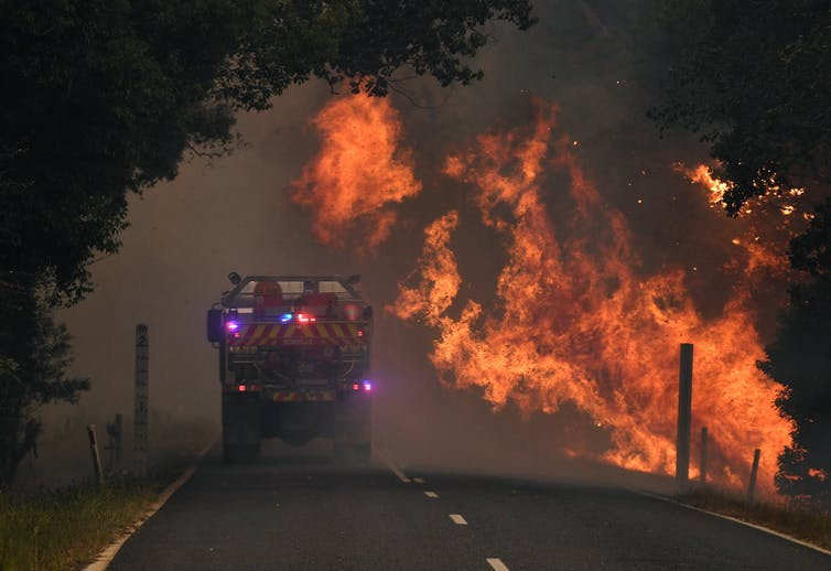 'Like volcanoes on the ranges': how Australian bushfire writing has changed with the climate