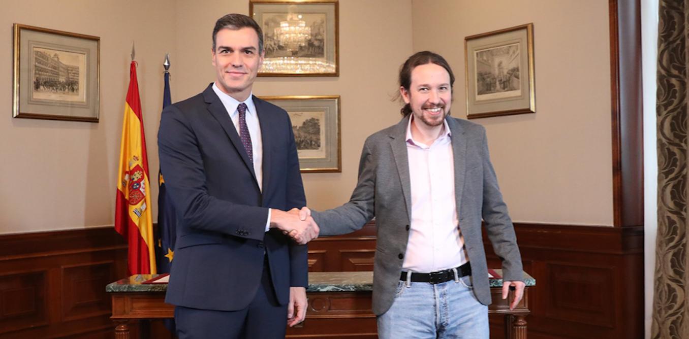 L'accord de coalition gouvernementale en Espagne est-il une exception en Europe ?