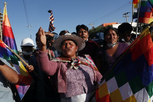 Old Religious Tensions Resurge In Bolivia After Ouster Of Longtime Indigenous President
