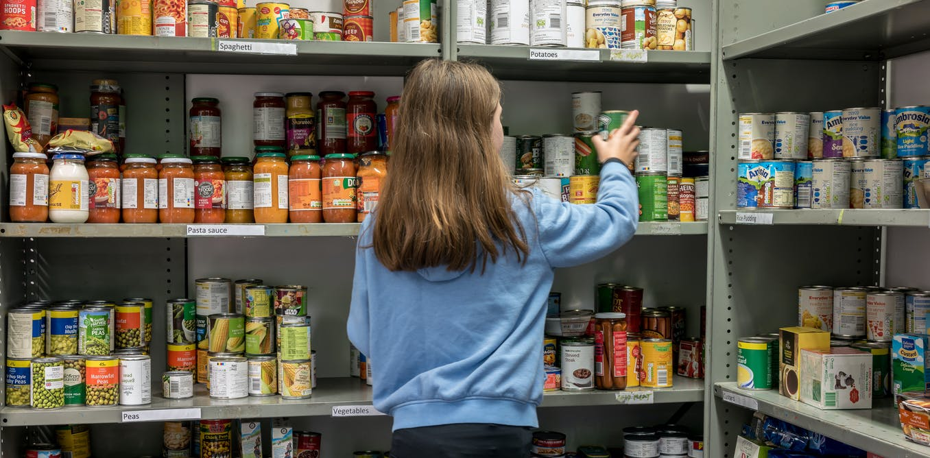 Food poverty at record levels – a children's book on food banks shows how normal it has become