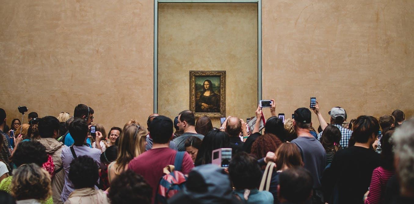 Un selfie avec la #Joconde : pas si superficiel !