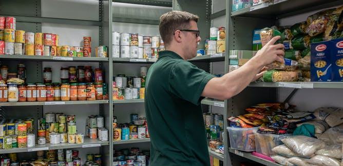 Food Banks News Research And Analysis The Conversation