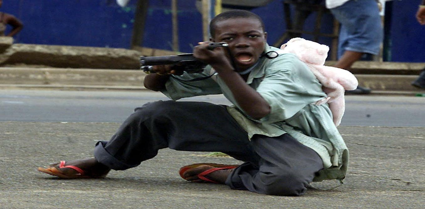 how to stop child soldiers in africa